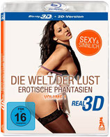 BD Die Welt der Lust: Erotische Phantasien 3D und 2D Version