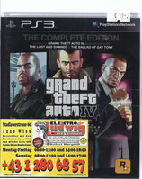 PS3 GTA4 inkl Episodes from Liberty City