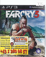 PS3 Farcry 3 FSK18