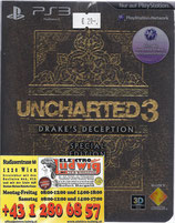 PS3 Uncharted 3 Spezial Edition