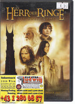 DVD Herr der Ringe die zwei Türme