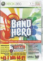 X360 Guitar Hero Band Hero