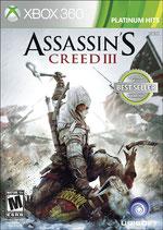 X360 Assassins Creed 3 FSK18