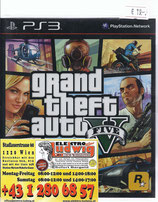 PS3 Grand Theft Auto 5 FSK18
