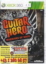 X360 Guitar Hero Warriors of Rock