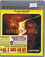 PS3 Resident Evil 5 FSK18