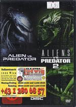 DVD Alien vs Predator Teil 1 und 2