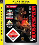 PS3 Metal Gear Solid 4 Platinum