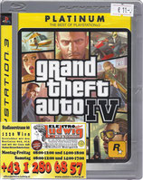 PS3 Grand Theft Auto 4 FSK18