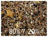Körnerfuttermischung 80% Mehlsaaten und 20% Ölsaaten