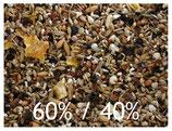 Körnerfuttermischung 60% Mehlsaaten und 40% Ölsaaten