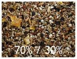 Körnerfuttermischung 70% Mehlsaaten und 30% Ölsaaten