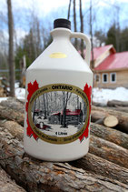 Pure Organic Maple Syrup 4L