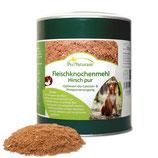 Fleischknochenmehl Hirsch pur