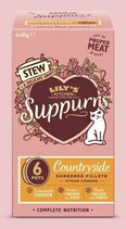 Lily's Kitchen Suppurrs Countryside Multipack 6 x 85g