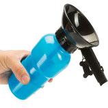 Hunde Wasserflasche mit Napf 600ml