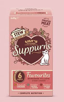 Lily's Kitchen Suppurrs Favourites Multipack 6 x 85 g