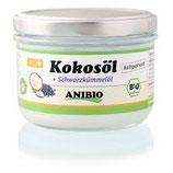 Anibio Kokosöl + Schwarzkümmelöl 200ml