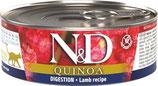 Feline Adult Quinoa Digestion - Lamm, Fenchel & Minze 80 g