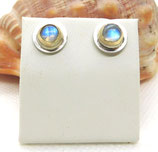 Regenbogen Mondstein Ohrringe - Rainbow moonstone earrings