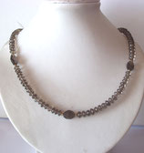 Rauchquarz Kette, Collier - Smokey quartz necklace