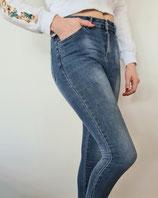 Jeans mit Beinzip
