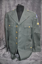 Class A jacket. 6th Army Corps.  Dated '62.