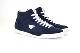 Sneaker High-Cut navy