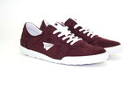 Sneaker Low-Cut bordo