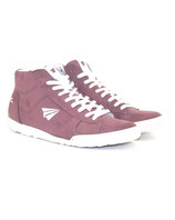 Sneaker High-Cut rosa
