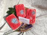 Lavendel-Minze - handgemachte dekorative Naturseife