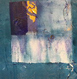 "Kunstkarte Ausschnitt aus Bild ""Jetzt"", 15 x 15 cm"
