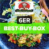 """VEGI""-6er Box, 6 Genuss-Menüs ""vegetarisch"""