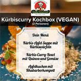 Kürbiscurry Kochbox (VEGAN), Drei-Gänge-Menüs, für 2 Personen