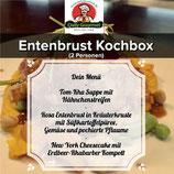 Entenbrust Kochbox, Drei-Gänge-Menü, für 2 Personen