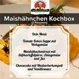 Kochbox Maishähnchen, Drei-Gänge-Menü, für 2 Personen