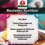 Rouladen Kochbox, Drei-Gänge-Menü, für 2 Personen
