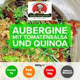 """""""VEGAN"""" Aubergine, Tomatensalsa,Quinoa"""