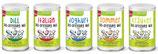 Bio- Dressing-Mix-Box 5 mal Bio-Dressing - Mix mit Sparvorteil* vs. Einzelproduktbestellung, (vegan),(bio)