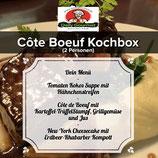 Côte Boeuf Kochbox, Drei-Gänge-Menüs, für 2 Personen