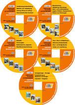CD GBU 1-5 Komplettserie