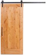 Vurenhouten Schuifdeur Type One Panel New Style - Onbehandeld vurenhout