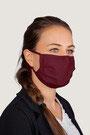"""""""wein-rot"""" HAKRO Mund-Nasen-Maske Mikralinar® - Hygiene-Artikel !kein Umtausch oder Retoure möglich! (keine medizinische Maske)"""