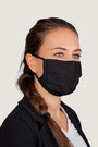 """""""schwarz"""" HAKRO Mund-Nasen-Maske Mikralinar® - Hygiene-Artikel !kein Umtausch oder Retoure möglich! (keine medizinische Maske)"""