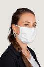 """""""weiß"""" HAKRO Mund-Nasen-Maske Mikralinar® - Hygiene-Artikel !kein Umtausch oder Retoure möglich! (keine medizinische Maske)"""