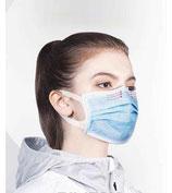 Mund-Nasen - Gesichtsmaske/Einwegverwendung - Hygiene-Artikel !kein Umtausch oder Retoure möglich! (keine medizinische Maske)