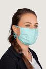 """""""pastell-grün"""" HAKRO Mund-Nasen-Maske Mikralinar® - Hygiene-Artikel !kein Umtausch oder Retoure möglich! (keine medizinische Maske)"""