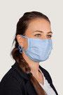 """""""pastell-blau"""" HAKRO Mund-Nasen-Maske Mikralinar® - Hygiene-Artikel !kein Umtausch oder Retoure möglich! (keine medizinische Maske)"""