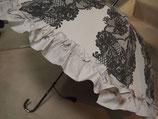 ラッフルレース柄雨傘(481-329)