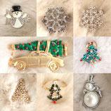 クリスマスジュエリー全8種
